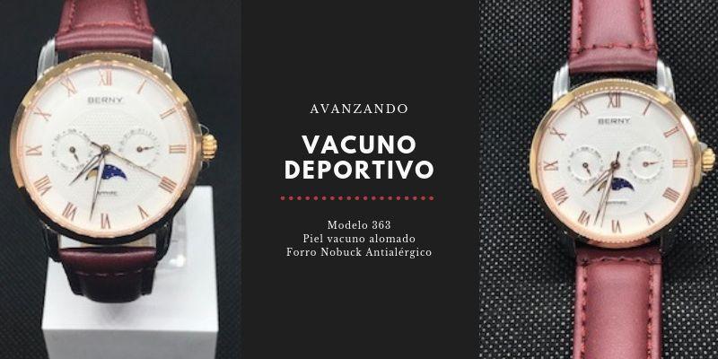 Correa de reloj Diloy 363 en reloj clásico