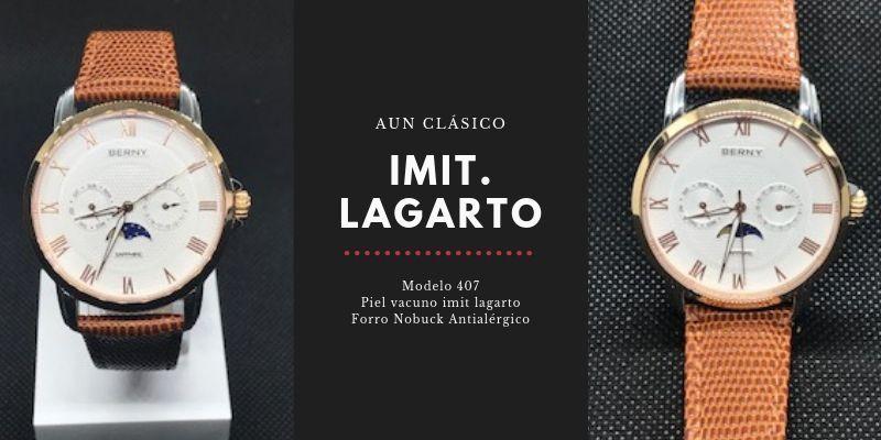Correa de reloj Diloy imitacion lagarto