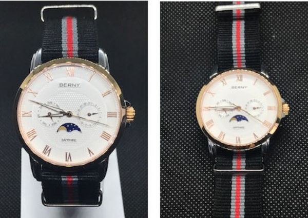 Correas de reloj Nato en reloj clásico