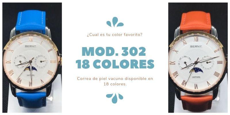 Correas de reloj de piel vacuno de colores
