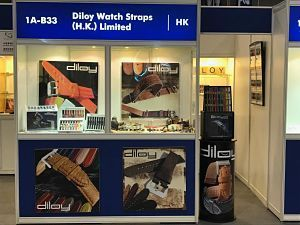 Stand Diloy en la HK Watch and Clocks Fair