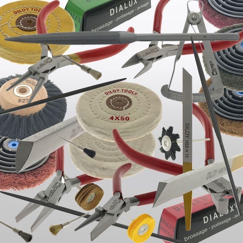 herramientas para joyero y relojero marca Diloy
