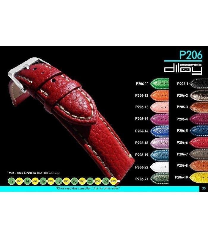 Pulseiras para relógio, Diloy P206