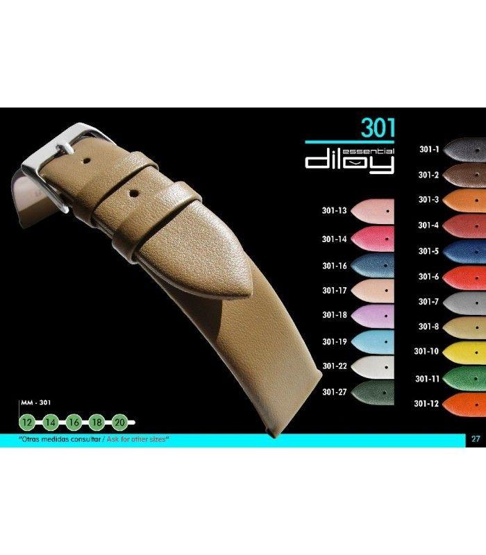 Pulseiras para relógio, Diloy 301
