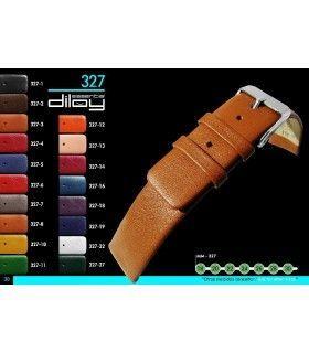 Correa de piel para reloj Diloy 327