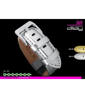 Leather watch straps Diloy 369