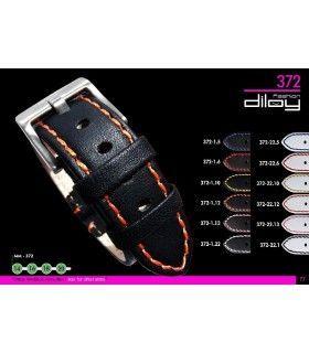 Bracelets de montre en cuir Ref 372