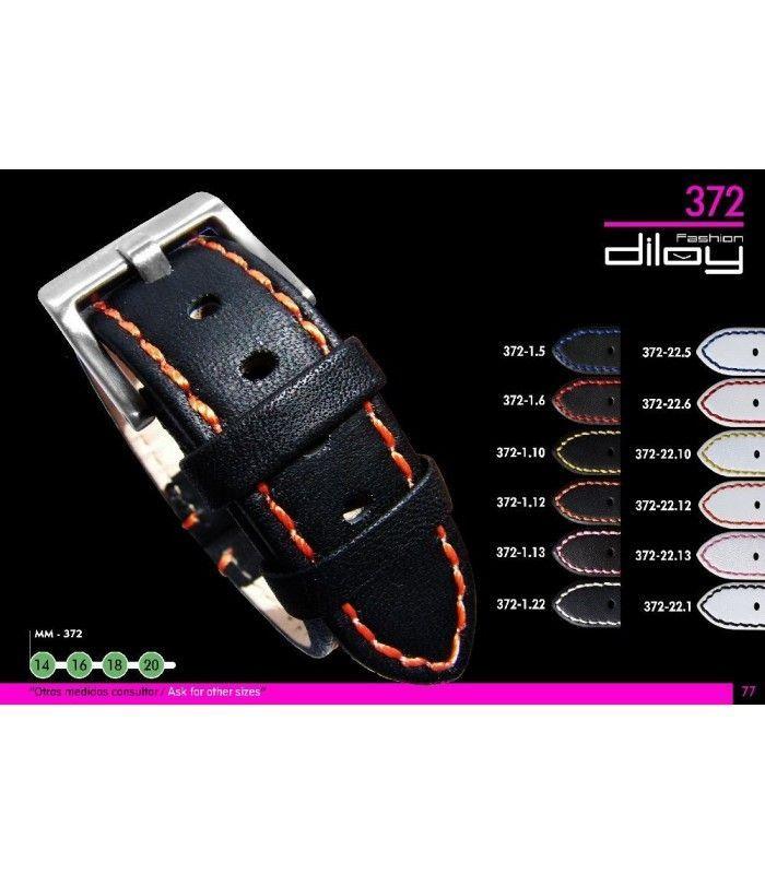 Bracelet pour montre en cuir, Diloy 372
