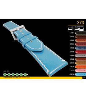 Leather watch straps Diloy 373