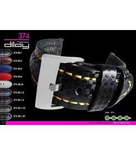 Bracelet pour montre en cuir, Diloy 374