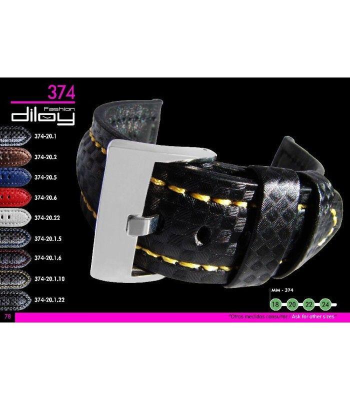 Pulseiras para relógio, Diloy 374