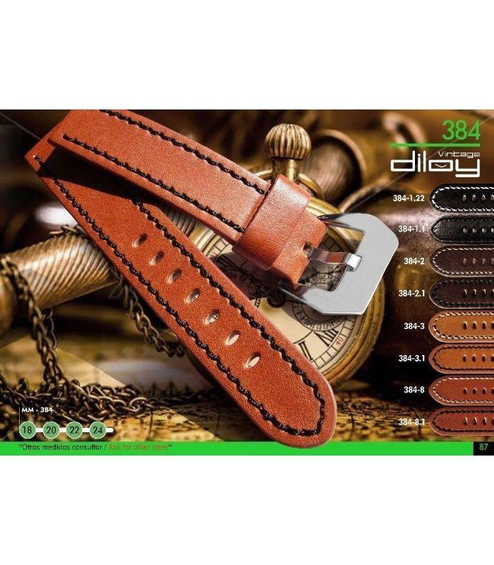 Pulseiras para relógio, Diloy 384