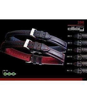 Bracelet pour montre en cuir, Diloy 394