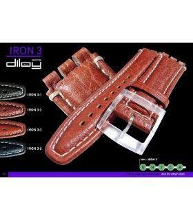 Lederarmbänder für Uhren, Diloy IRON3