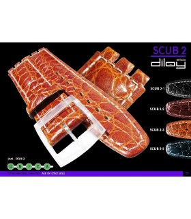 Replacement watch straps compatible with Swatch, Diloy SCUB2