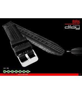 Cinturino orologio in silicone Ref BR06