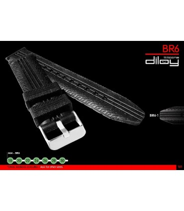 Silicon watch straps Ref BR06