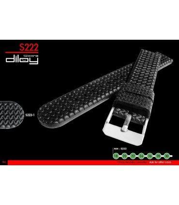 Correa reloj silicona Ref S222