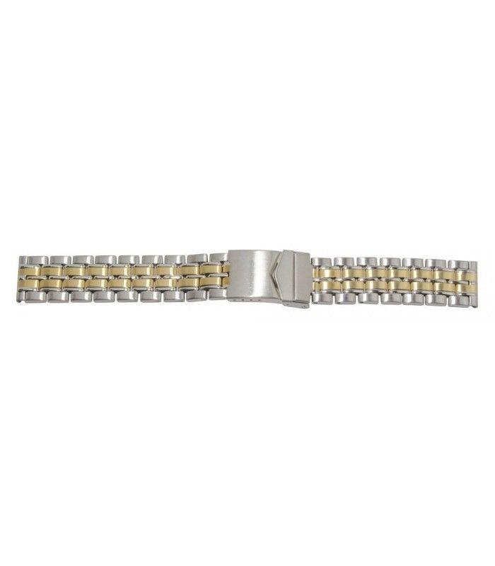 Pulseiras metálicas para relógio, Diloy DD1228
