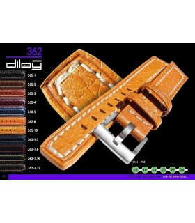Bracelet pour montre en cuir, Diloy 362