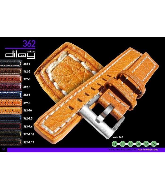 Pulseiras para relógio, Diloy 362