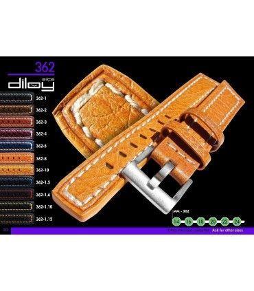 Bracelets de montre en cuir Ref 362