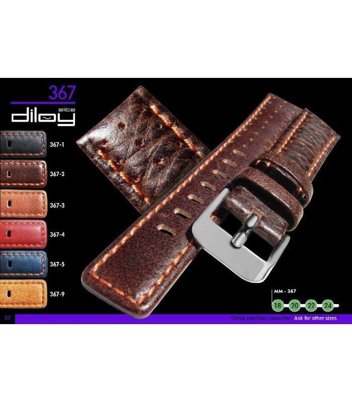 Pulseiras para relógio, Diloy 367