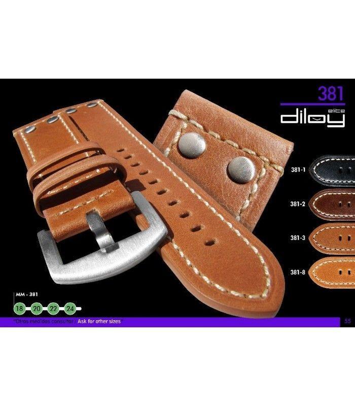 Pulseiras para relógio, Diloy 381
