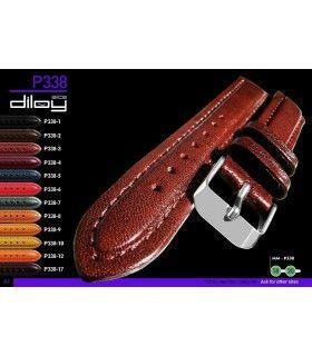 Bracelet pour montre en cuir, Diloy P338