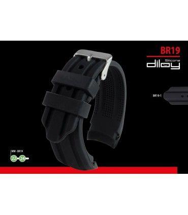 Correa reloj silicona Ref BR19
