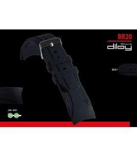 Cinturino orologio in silicone Ref BR20