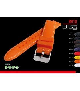 Bracelets pour montres en silicone, Diloy BR10