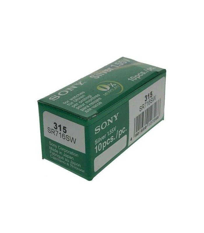 Pilhas para relógio Sony 315