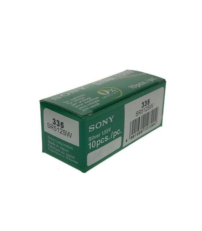 Pilhas para relógio Sony 335