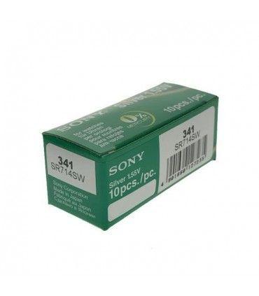 Pilas de Reloj Sony 341