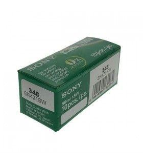 Piles de montre ou pile bouton Sony 348