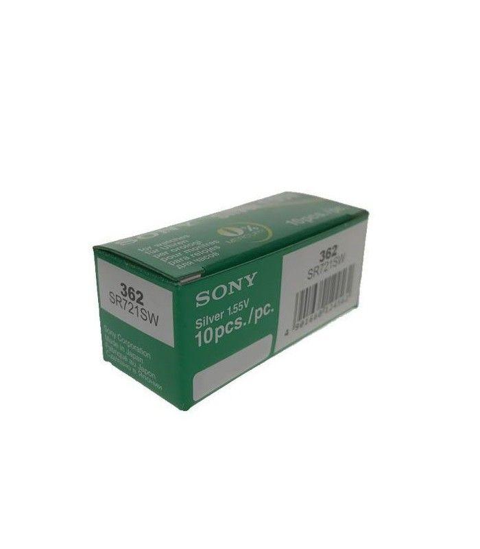 Pilhas para relógio Sony 362