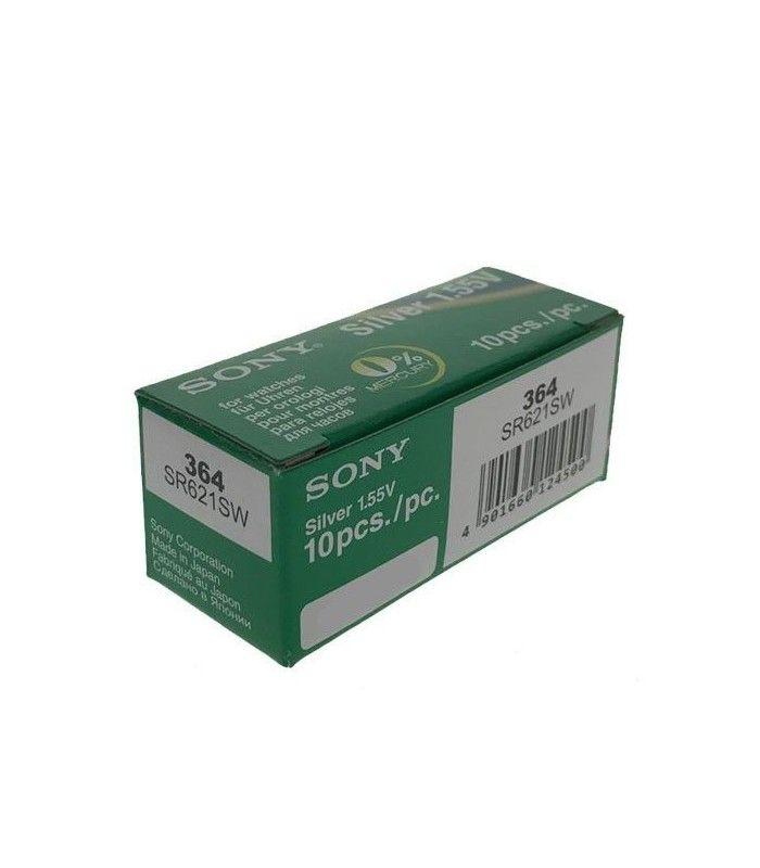 Pilhas para relógio Sony 364
