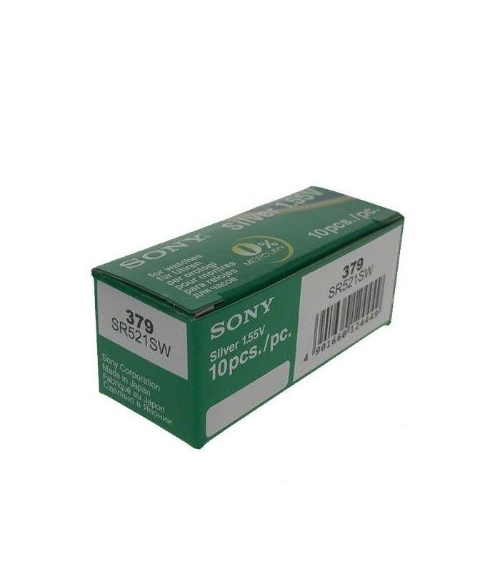 Uhrbatterien Sony 379