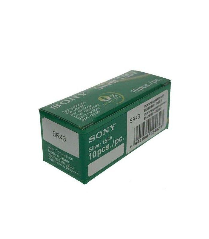 Pilhas para relógio Sony 386