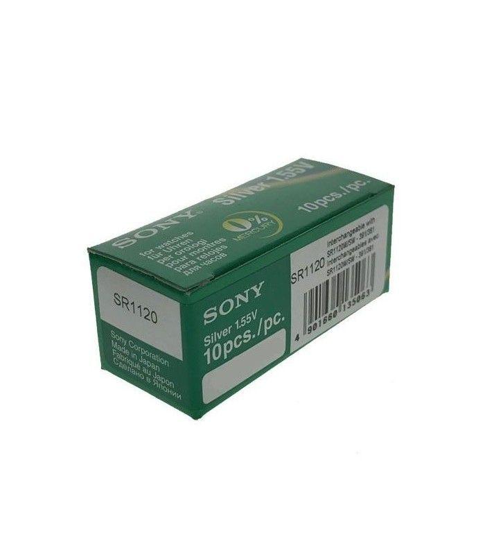 Pilhas para relógio Sony 391