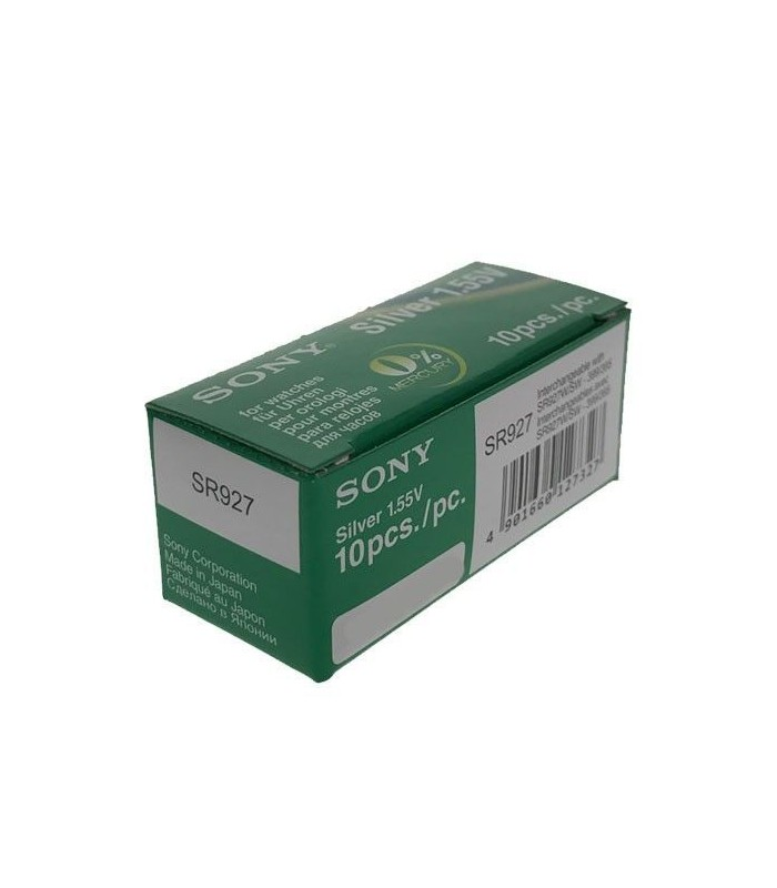 Piles de montre ou pile bouton Sony 395