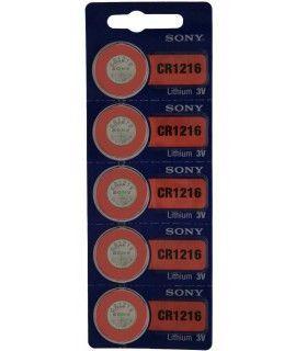 Pila o batería para reloj Sony CR1216