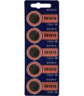 Pilas de Boton SONY CR1616