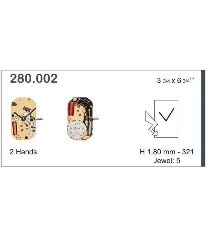 Uhrwerke, ETA 280.002