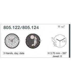Uhrwerke, ETA 805.124