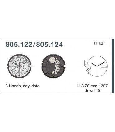 Mecanisme montre Ref ETA805124