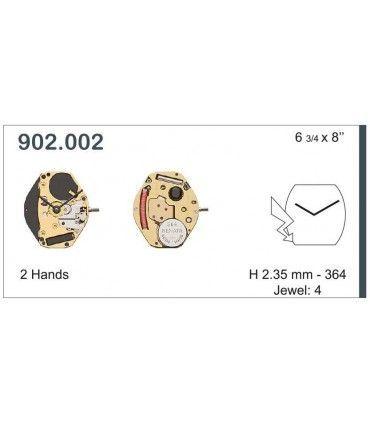 Meccanismo Orologio Ref ETA902002
