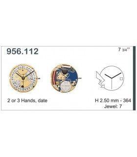 Maquinaria de reloj Ref ETA956112