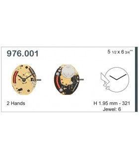 Maquinaria de reloj Ref ETA976001